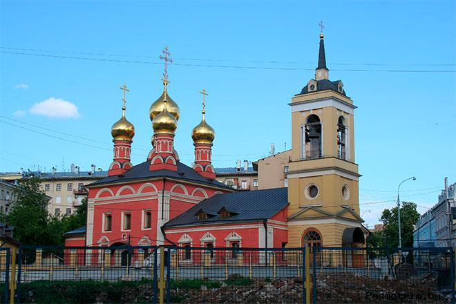 Храм Николая Чудотворца на Щепах Москва