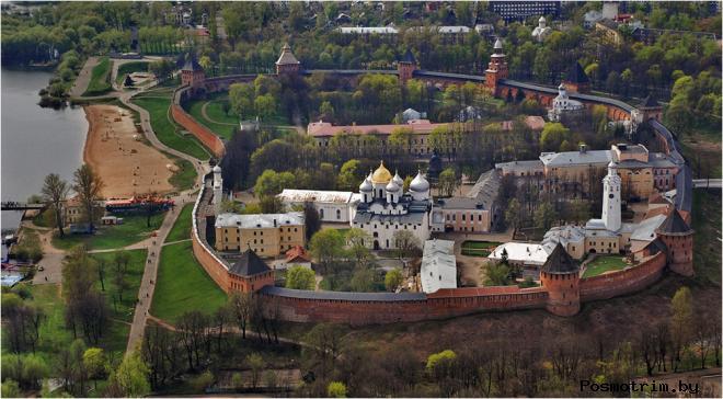 Новгородский кремль Детинец Великого Новгорода