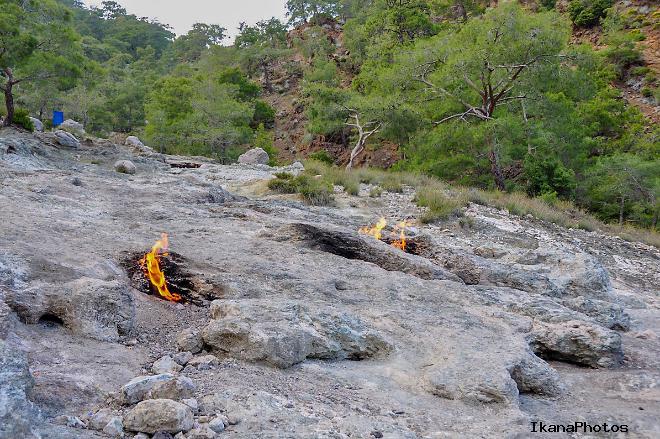 Природа огня горы Янарташ