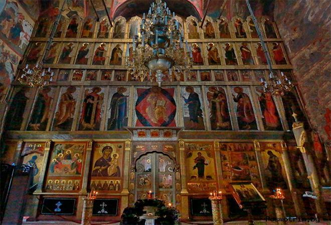 Интерьер Рождественского собора Саввино-Сторожовского монастыря