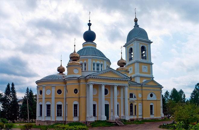 Архитектура Успенского собора в Мышкине.