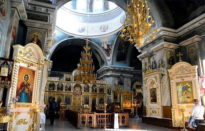 Интерьер Петропавловского собора Гомеля