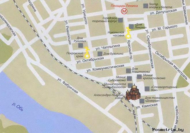 Собор Александра Невского Новосибирск богослужения контакты как добраться расположение на карте