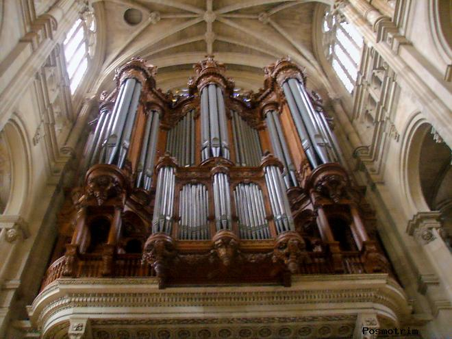 Орган церкови Сент-Эсташ