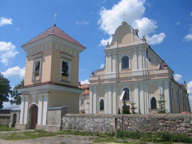 Костёл Святого Иоанна Крестителя Гольшаны
