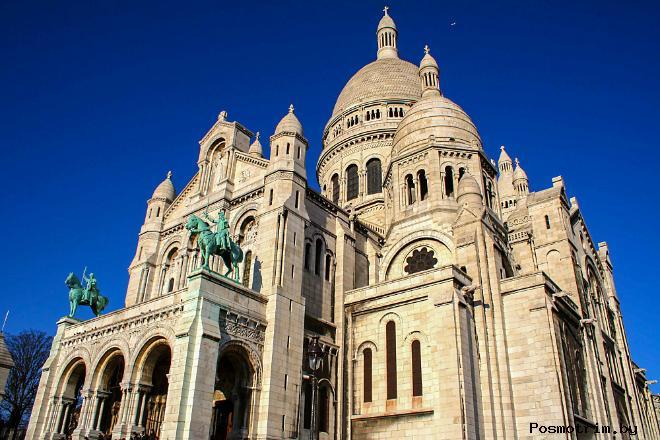 Базилика Сакре-Кер - как добраться самостоятельно - расположение на карте Парижа