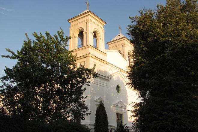 История  Крестовоздвиженского костёла в Бресте