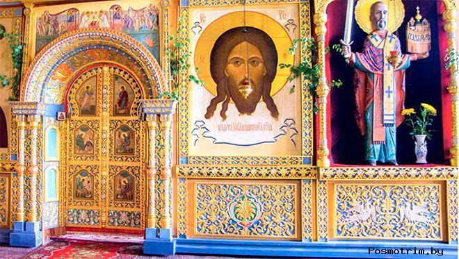 Внутри можайского Никольского собора