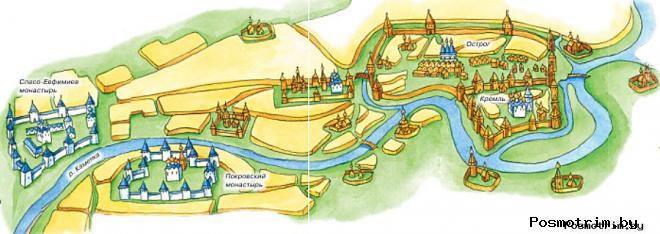Немного истории города Суздаль