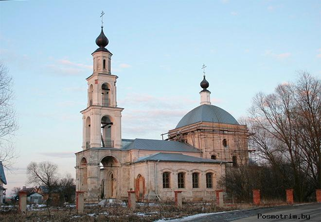 Церковь Покрова Пресвятой Богородицы Ерино