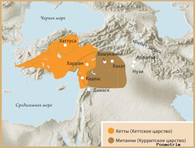 Хеттское и Хурритское царства в XVIII–XII вв. до н. э.