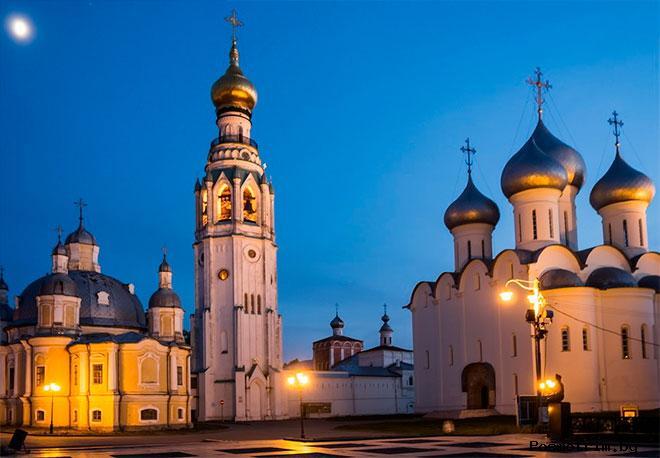 Освящение Софийского собора в Вологде