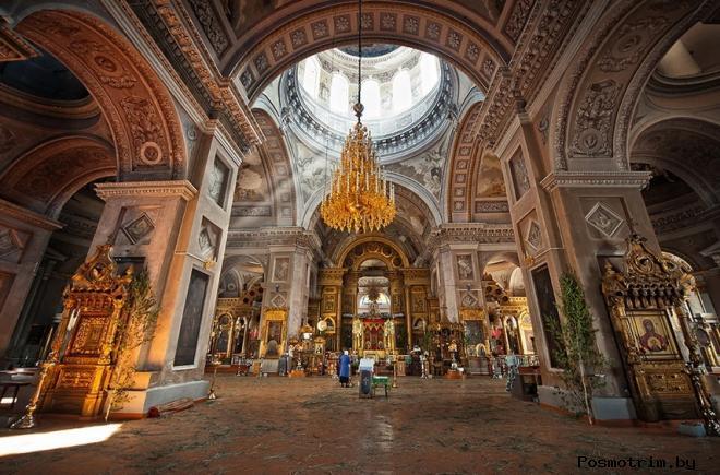 Воскресенский собор Арзамаса внутри