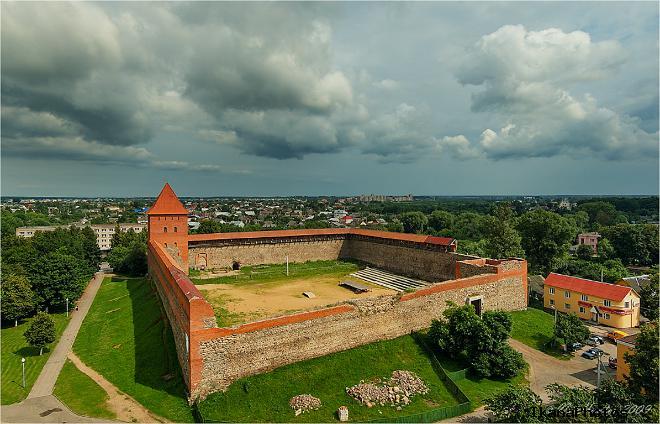 Лидский замок история военных действий