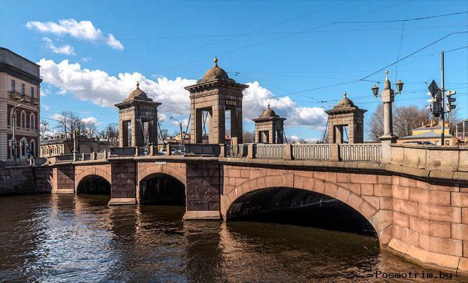 Старо-Калинкин мост Санкт-Петербург