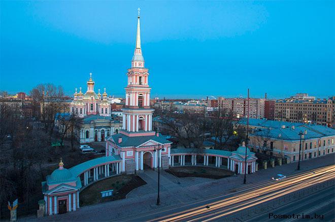 Архитектура Крестовоздвиженского собора Питербурга