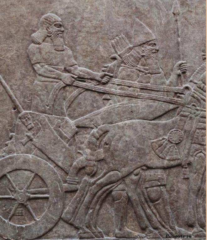 Ассирийское царство около 911–627 гг. до н.э. Возрождённая Ассирия