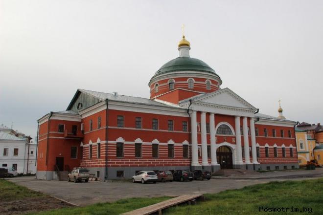 Крестовоздвиженский храм Казань
