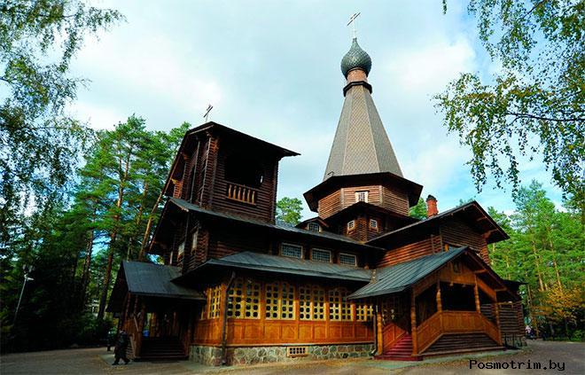 Казанский храм Вырица