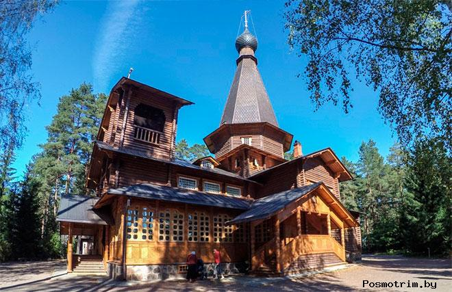 История Казанского храма в Вырице