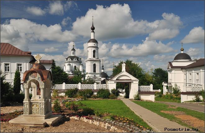 Черноостровский монастырь Малоярославец
