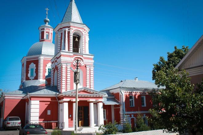 Ильинский храм Воронеж