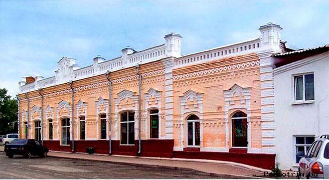 Бывшая Базарная площадь города Ишим