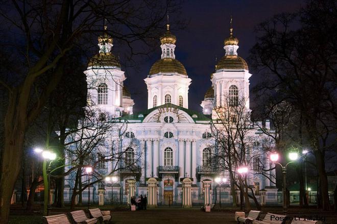 Приходские традиции Никольского храма Петербурга