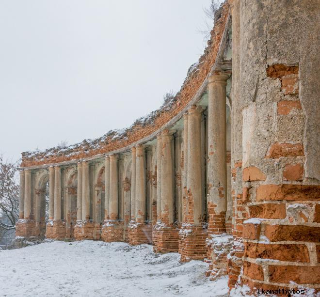 Замок в Ружанах история местечка
