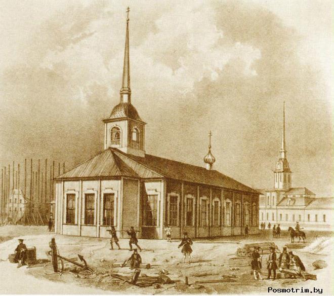 Первый Исаакиевский храм