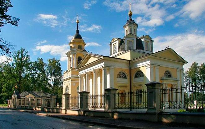 Храм Николая Чудотворца Николо-Прозорово