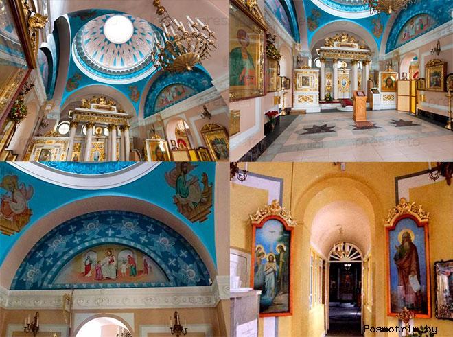 Интерьер Влахернского храма в Кузьминках