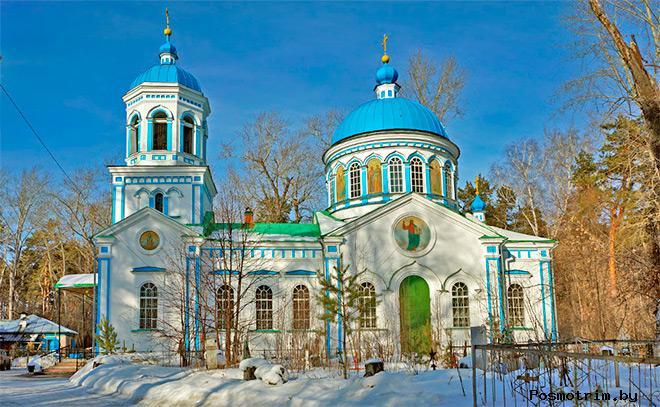 Воскресенский храм Шадринск