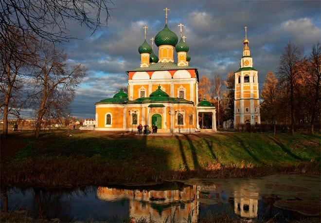 Спасо-Преображенский собор Углич фото история