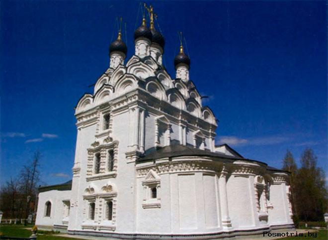 Архитектура храма Сергия Радонежского в Комягино