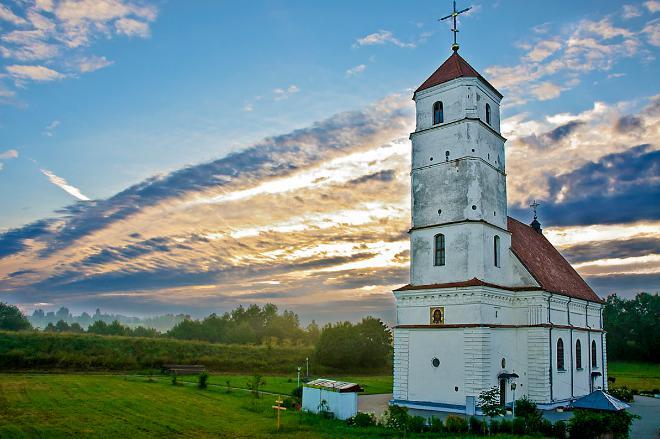 Заславль | Церковь Преображения Господня | Спасо-Преображенская церковь краткая история храма и Заславского замка