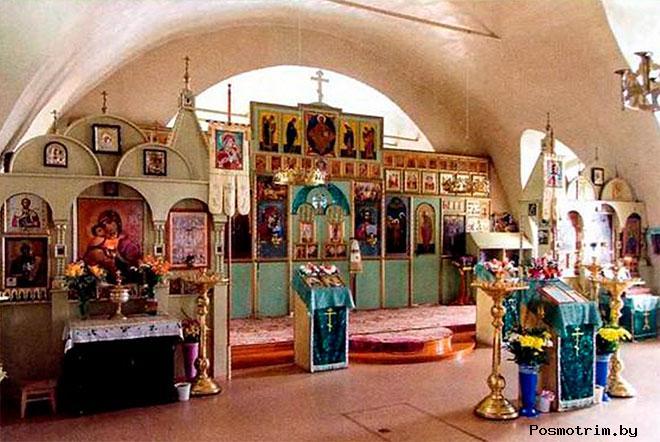 Внутри Богоявленского собора Ишима