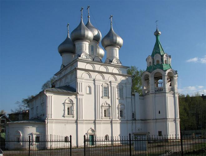 Храм Константина и Елены Вологда