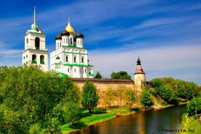 Троицкий храм Пскова в статусе кафедрального собора
