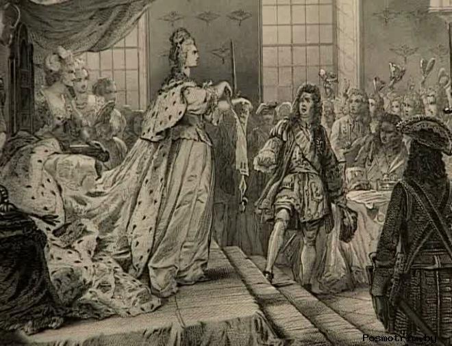 Смерть императрицы Анны Иоанновны Романовой