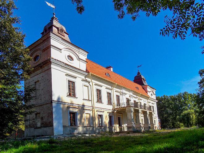 Роль дворца Немцевичей в деревне Скоки в первой мировой войне