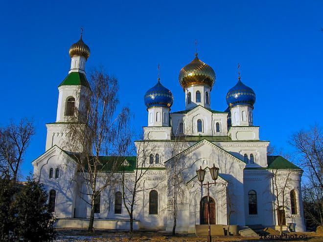 Свято-Николаевский собор в Бобруйске, Расположение на карте Белоруси, адрес, как добраться самостоятельно
