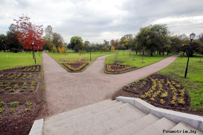 Куракина Дача парк в Санкт-Петербурге