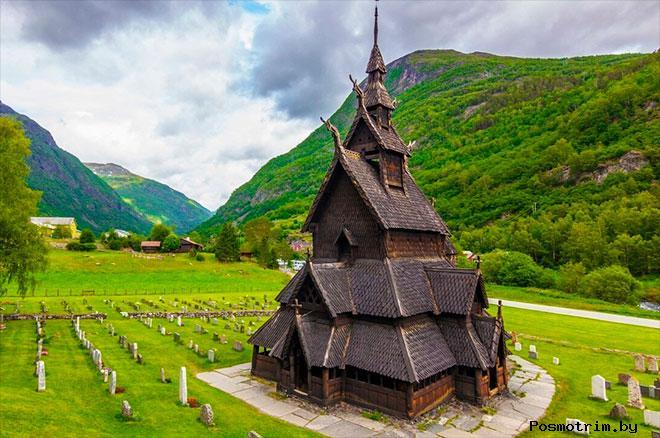Церковь в Урнесе Норвегия
