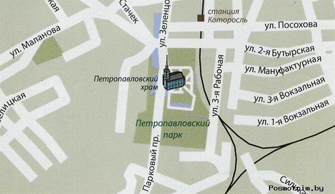 Храм Петра и Павла в Ярославле график работы контакты как добраться расположение на карте