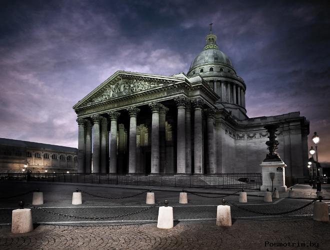 История Пантеона в Париже