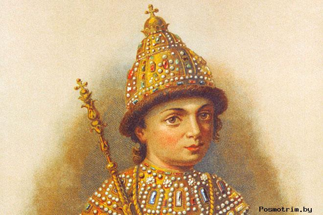 Петр I - детские годы, путь к трону