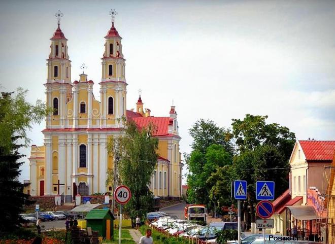 Костел Троицкий Глубокое Витебская область