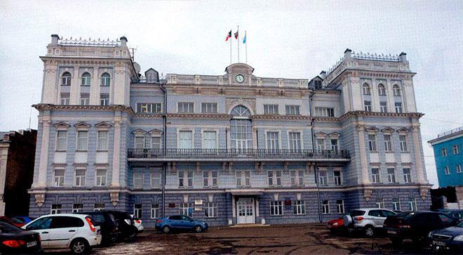 Здание городской администрации Серапула