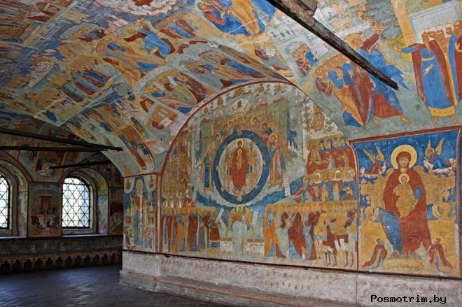 Интерьер церкви Иоанна Предтечи в Толчкове